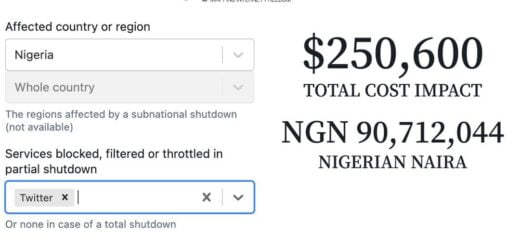 HOW MUCH NIGERIA LOSE PER HOUR OF TWITTER BAN